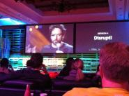 Disrupt! -- one of Will's favorite sessions