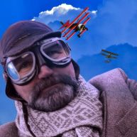 Wanna be a gentleman fighter pilot? – Dress like a gentleman fighter pilot!