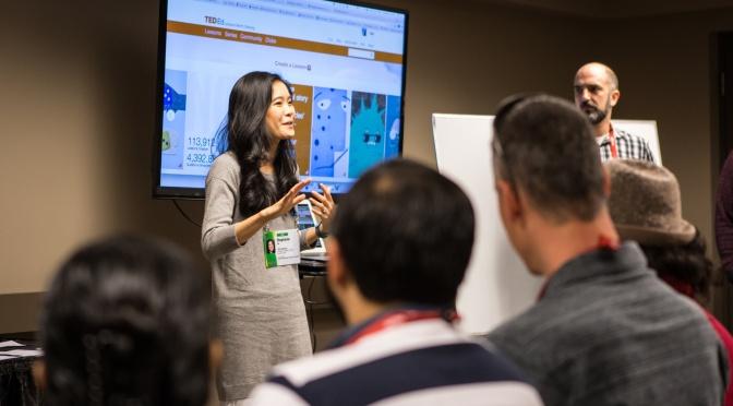 TEDActive TED-Ed Workshop: Educators, Translators — and Great Ideas